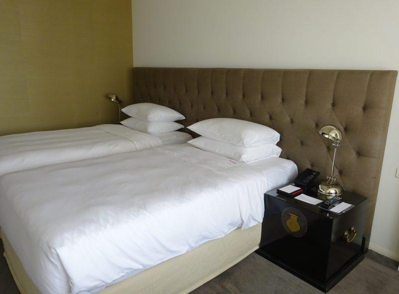 グランドハイアットホテルの室内