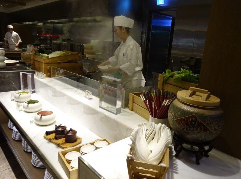グランドハイアット台北の朝食ビュッフェ