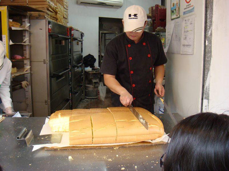 シフォンケーキの古早味現烤蛋糕