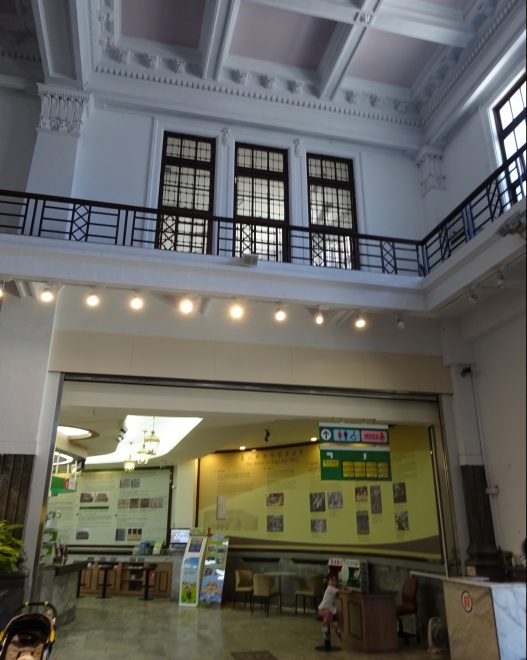 台北北門郵便局内