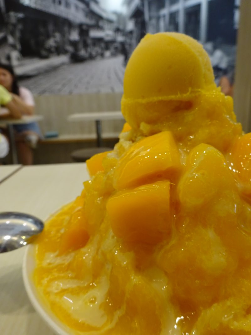 King Mango芒果皇帝のマンゴーかき氷