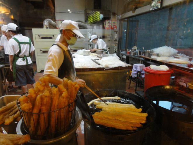 阜杭豆漿の製造工程