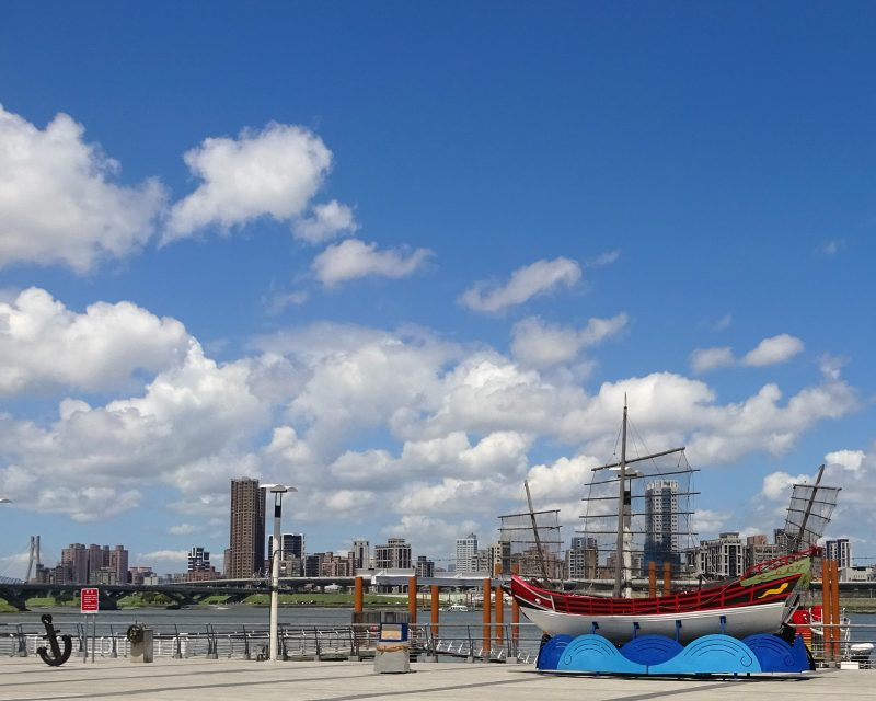 大稲埕碼頭の景色