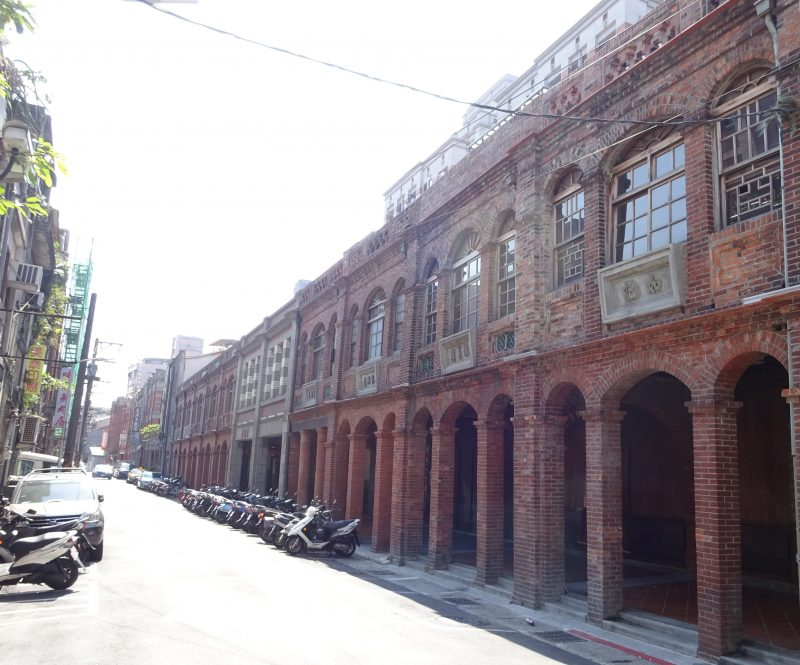 迪化街の建築物