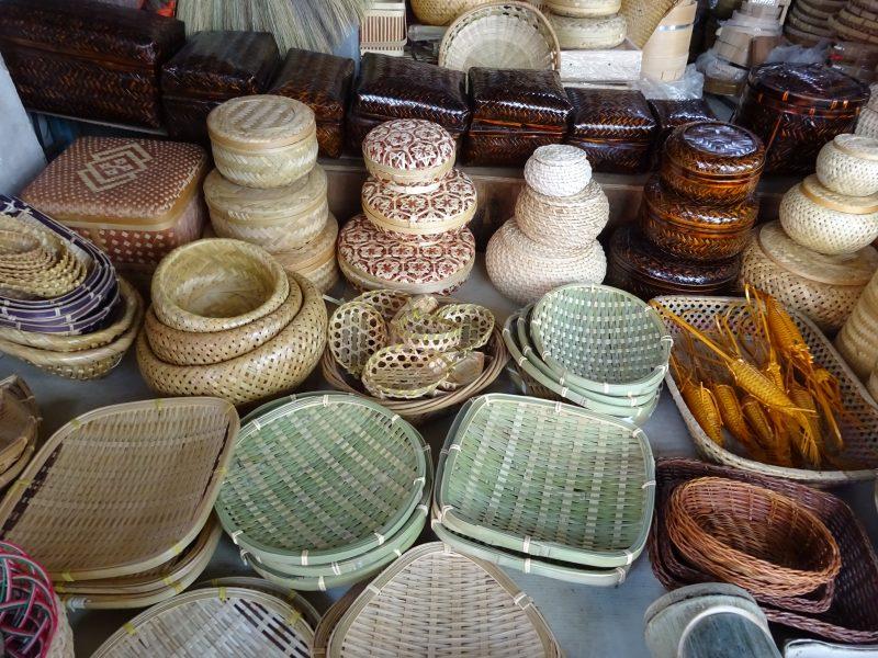 迪化街の竹製品