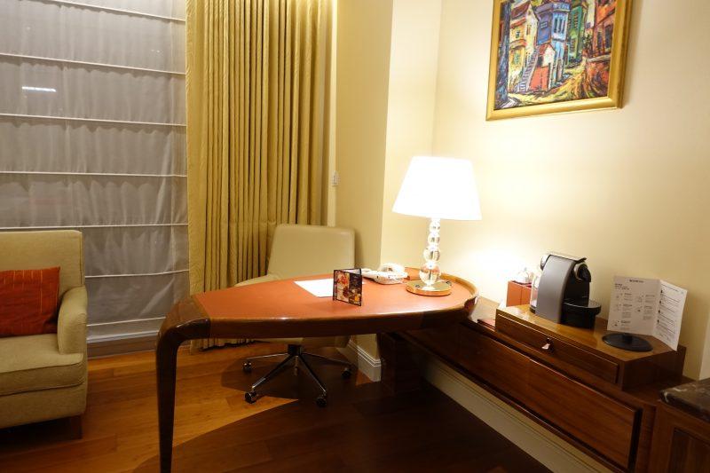オークラプレステージ台北の室内