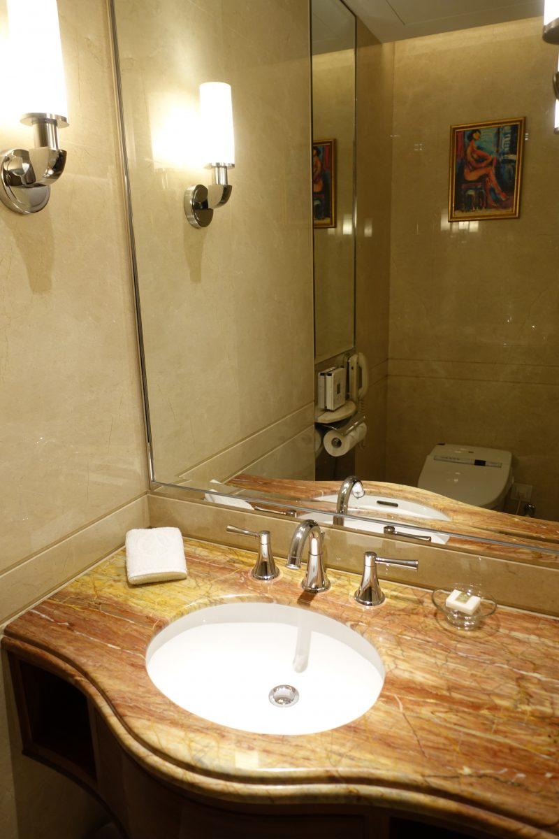 オークラプレステージ台北のトイレ