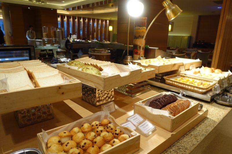 オークラ台北朝食コンチネンタルルームのパン