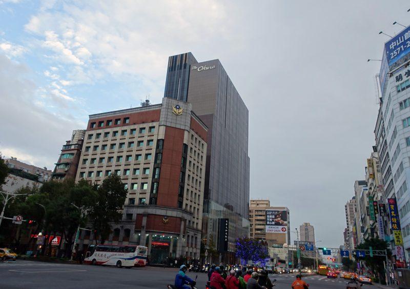 オークラプレステージ台北の外観