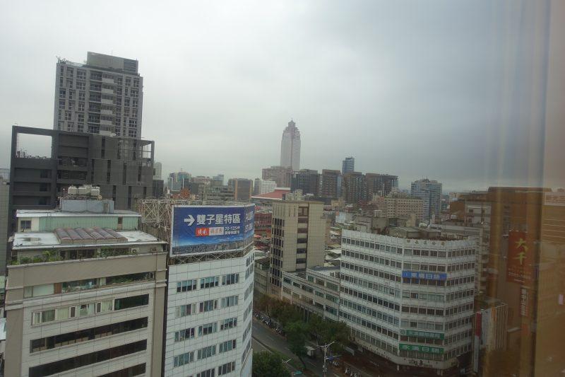 オークラプレステージ台北部屋からの眺め