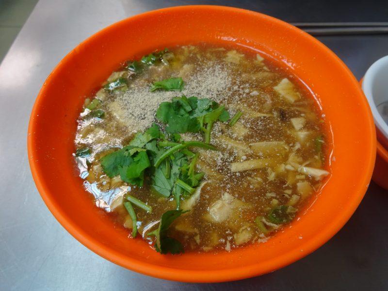 阿娥水餃の酸辣湯