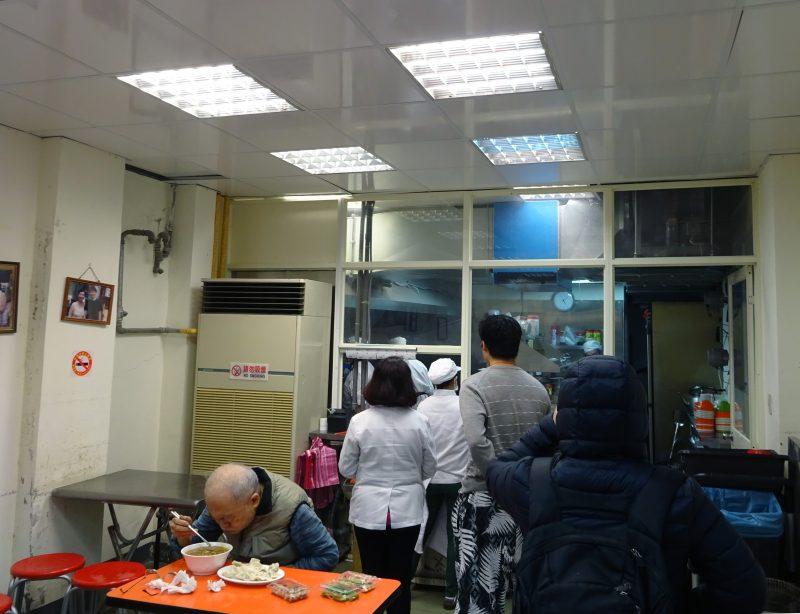 阿娥水餃の店内