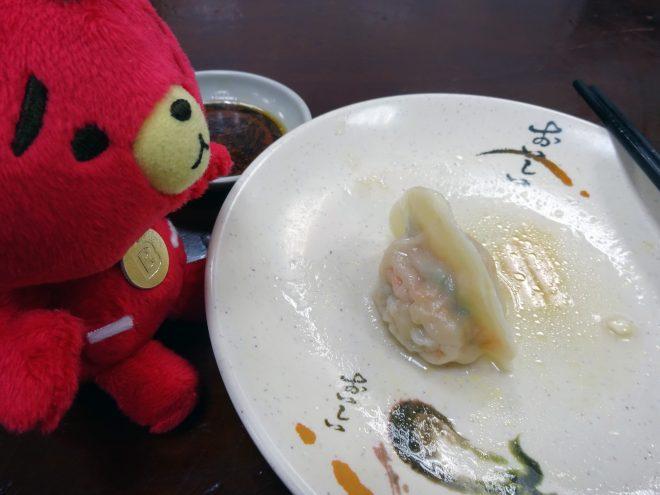 豪季水餃専売店のえび水餃子