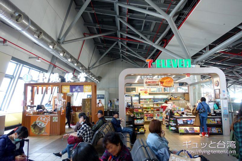 高鉄台南駅の7-11