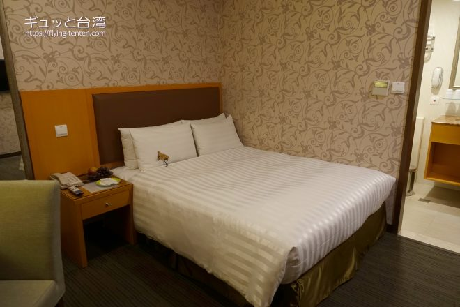 フーワードホテル台南の室内