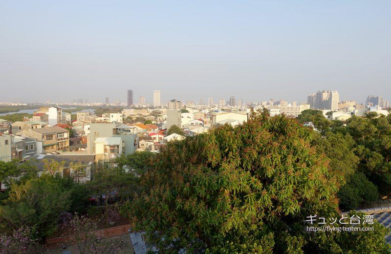 安平古堡展望台からの眺め