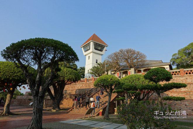 安平古堡の展望台