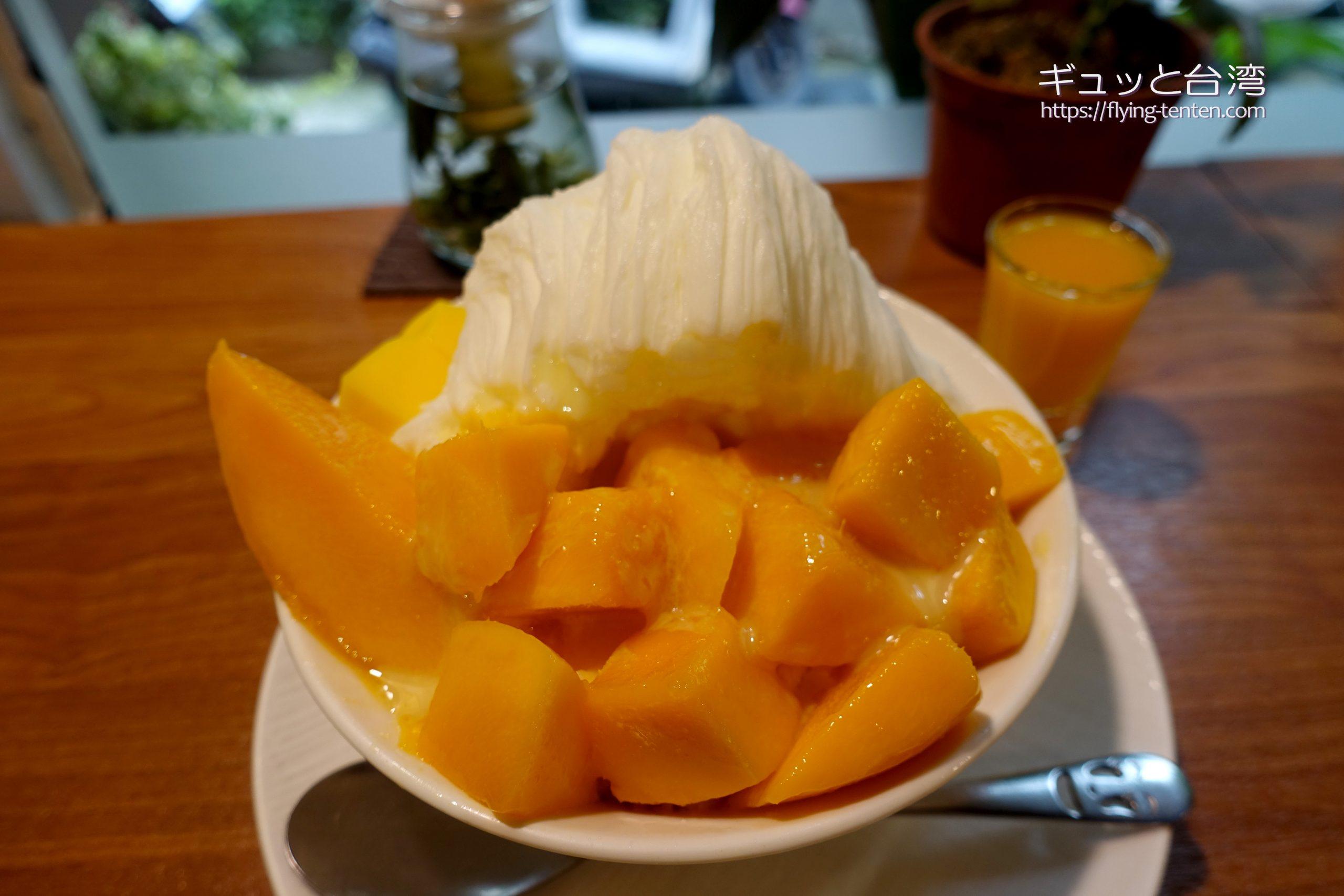 GomanMangoのマンゴーかき氷