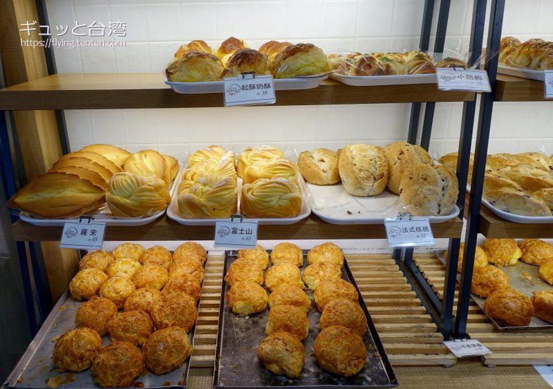 百合起酥蛋糕専売店の富士山