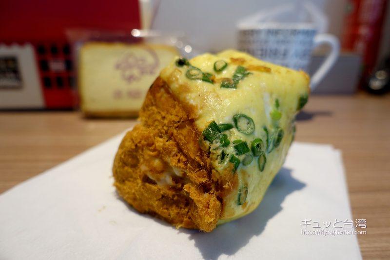 百合起酥蛋糕専売店の肉鬆パン