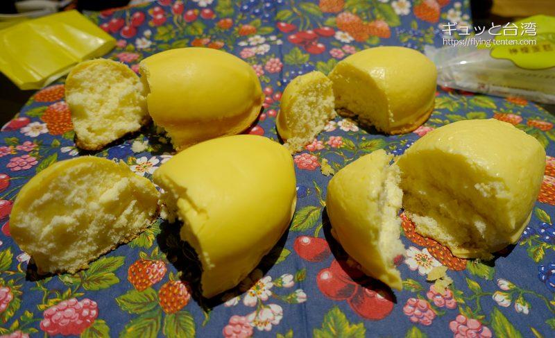 台中有名店の檸檬蛋糕食べ比べ