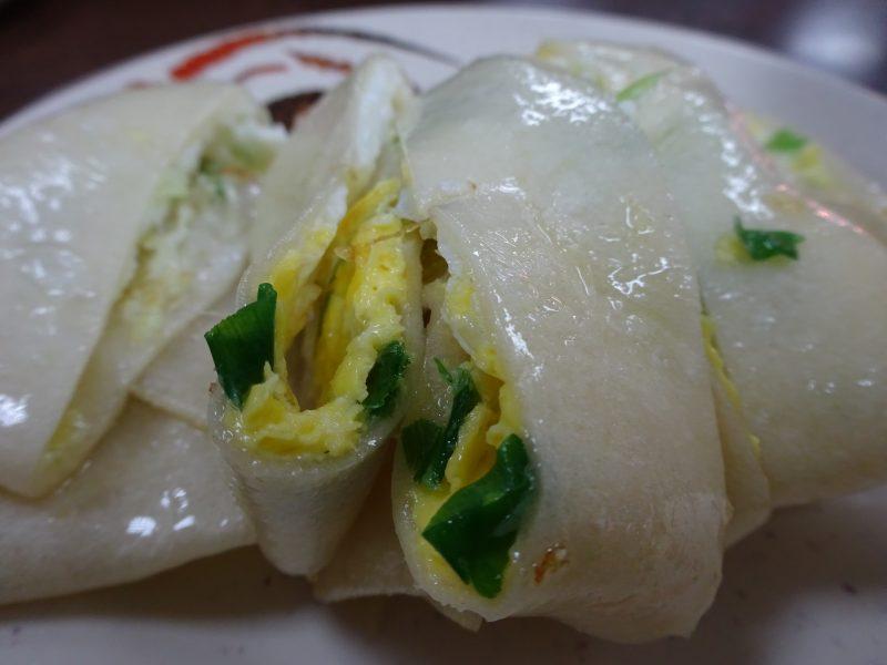 鼎元豆漿の蛋餅
