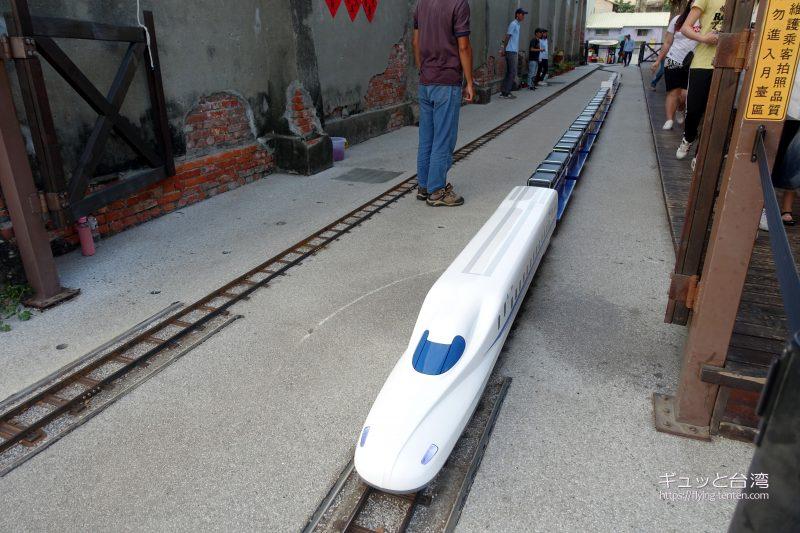 駁二藝術特区のミニ鉄道
