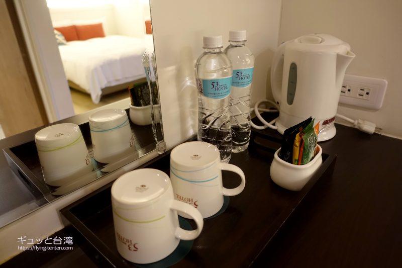 53ホテルの室内