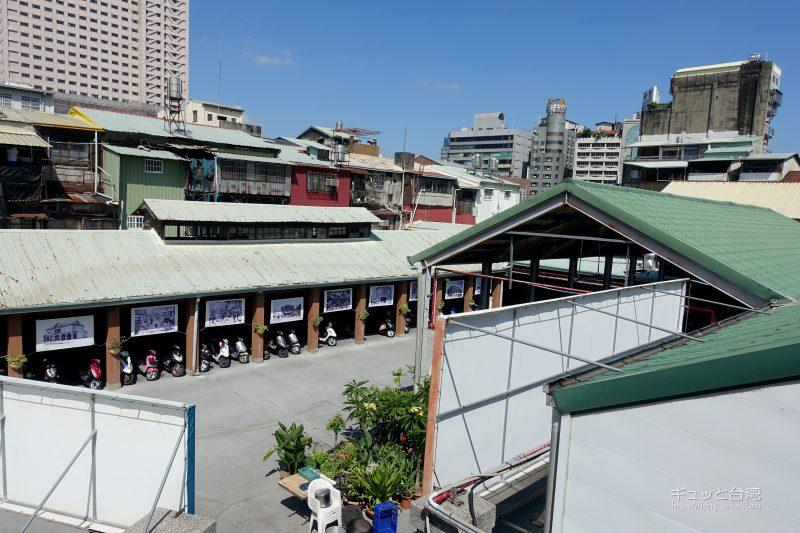 台中第二市場の六角樓