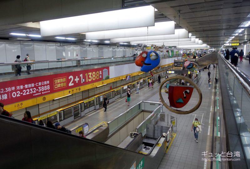 MRT古亭駅