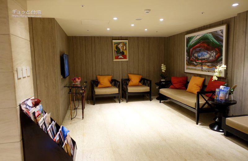 ガイアホテル_大地酒店の個室温泉休憩所