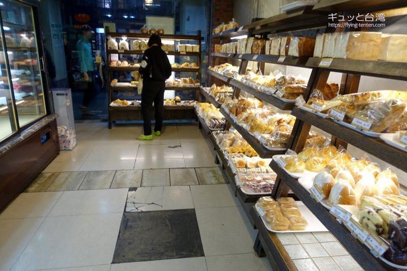 米哥烘培坊の店内の様子