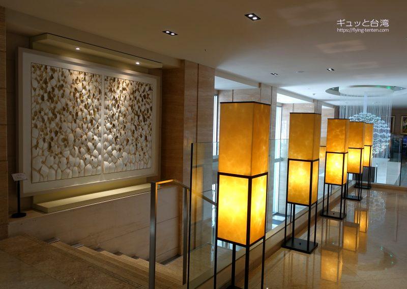 ガイアホテル_大地酒店のロビー装飾